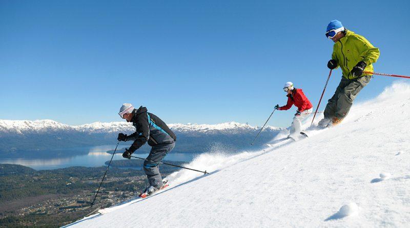 Nieve para pocos: solo residentes disfrutan del esquí en la Patagonia