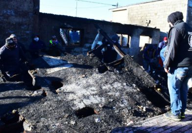 Gobierno continua acompañando a las familias afectadas por el incendio en Río Grande