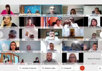 El ministerio de Trabajo y empleo participó de la videoconferencia del Consejo Federal del Trabajo