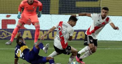 Boca y River empataron en el primer superclásico del año