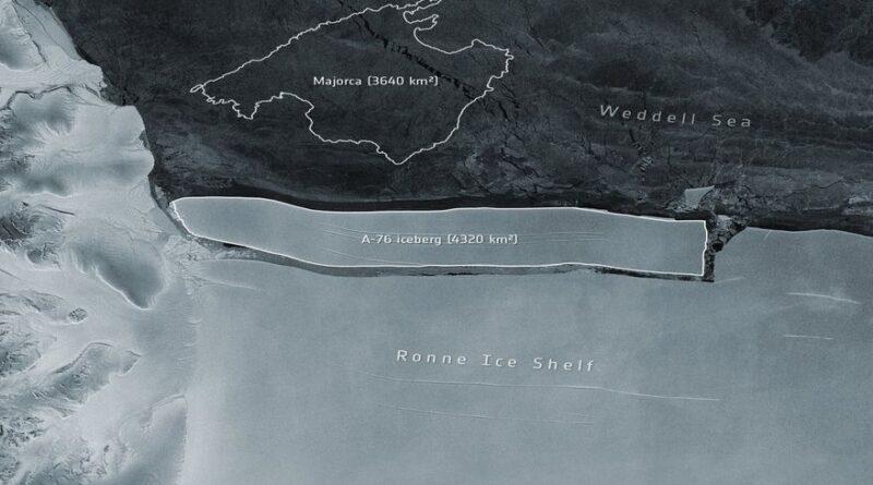 ALARMA: se desprende de la Antártida el iceberg más grande del mundo
