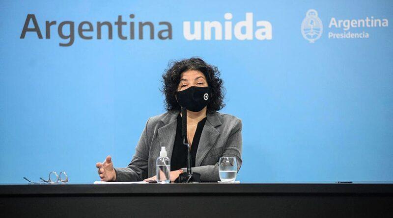 """Vizzotti: """"Argentina va a superar esta semana las 40 millones de vacunas recibidas"""""""