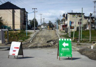 La Municipalidad de Ushuaia inició los trabajos en el Barrio los Morros
