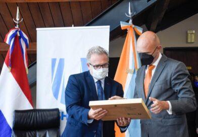 El Embajador de Países Bajos fue recibido en la Municipalidad de Ushuaia